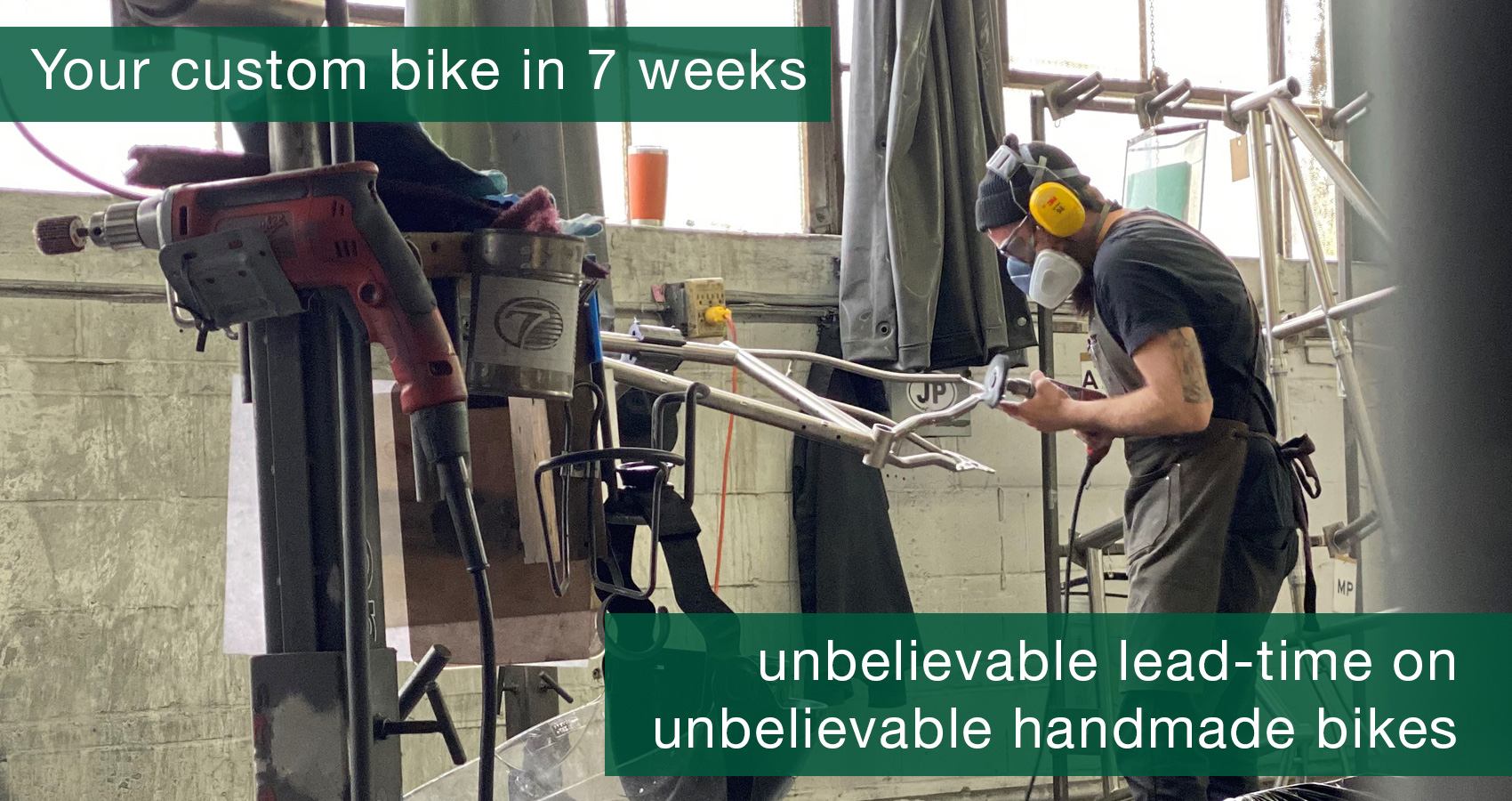 unbelievable lead time on unbeleiveable handmade bikes