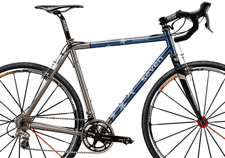 Seven's limited edition CBS Star-Crossed Bike